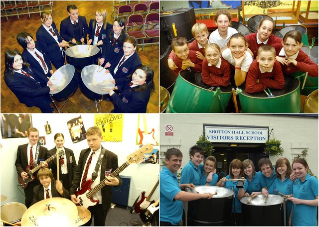 Lots of retro school band scenes for you to savour.
