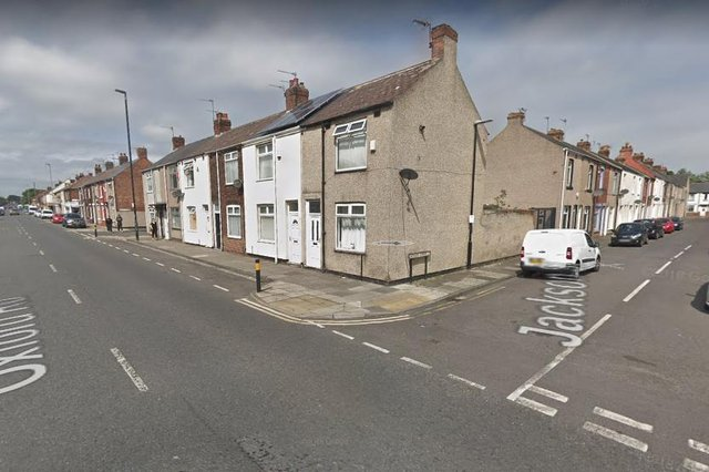 The incident happened on on Oxford Road at the junction with Jackson Street./Photo: Google
