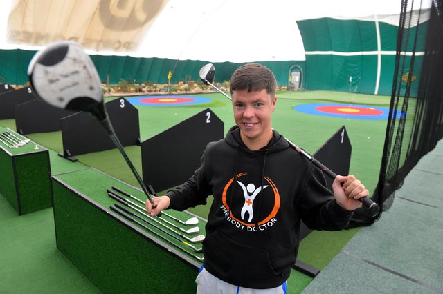 Steven Smith is dedicating a day to key workers at the Golf Dome.