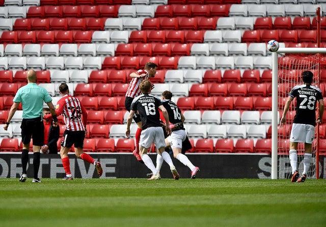 Sunderland striker Charlie Wyke.