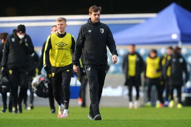 Bournemouth boss Jonathan Woodgate.