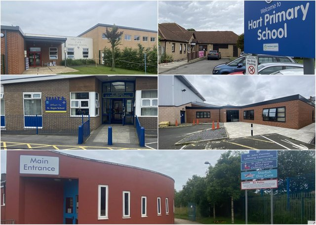 Five top Hartlepool schools are facing the increased likelihood of Ofsted inspections from September.