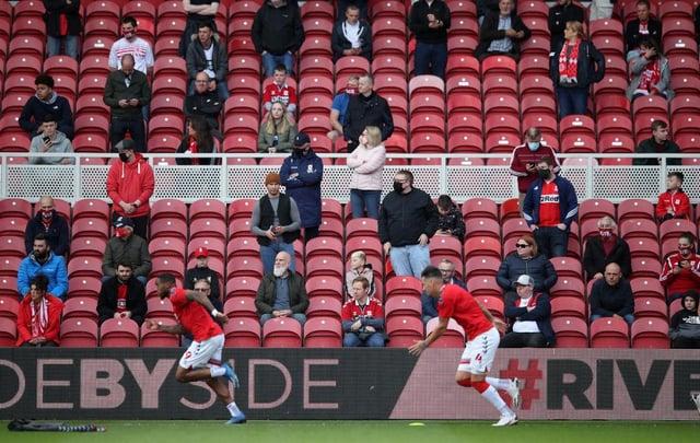 Middlesbrough fans.