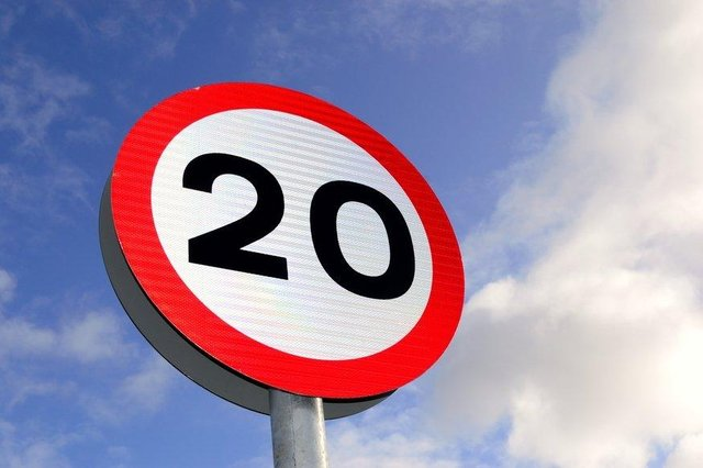 Council bosses have announced plans for a road's new 20mph speed limit.