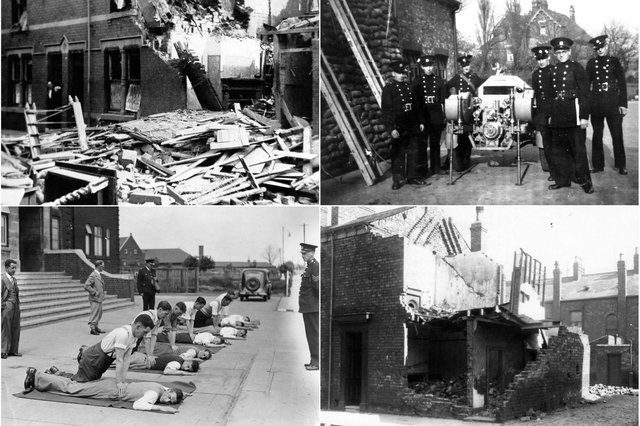 These photos show just some of the numerous aspects of war when it came to Hartlepool.