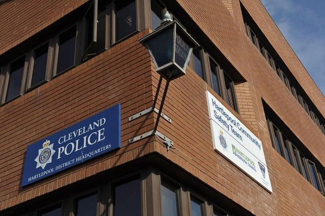 Hartlepool Police Station, in Avenue Road, Hartlepool.