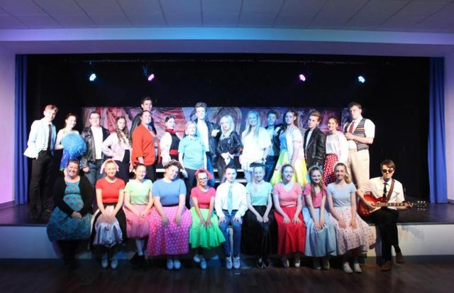 Twenty-two students took part in the performance.