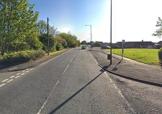 Sarah Briggs, 35, had driven half a mile when a nurse saw her swerving across Silksworth Lane, Silksworth, Sunderland.