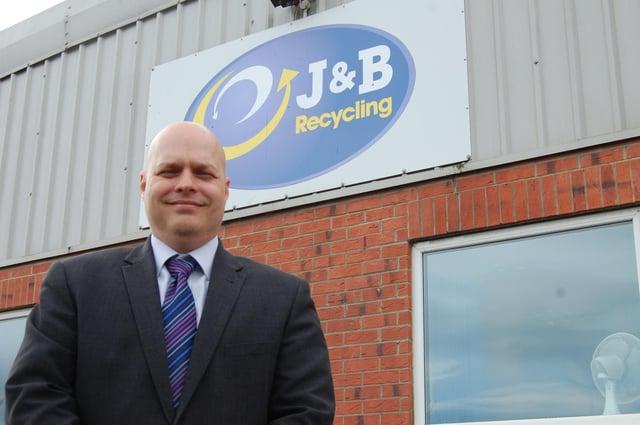 Mark Penny, of J&B Recycling