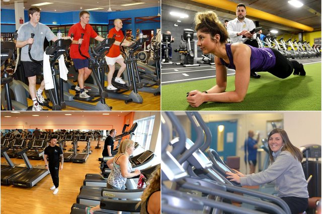 How many of these Hartlepool and East Durham gym scenes do you remember?