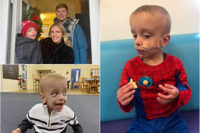 A wonderful boost for Noah Griffiths whose brain tumour has shrunk 'considerably' after chemotherapy.