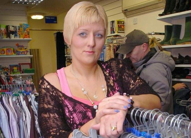 The manager of the PDSA store in Peterlee, Susan Curry, is appealing for more clothes and furniture.