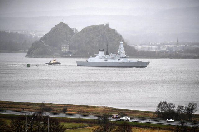 HMS Defender. Photo by Jeff J Mitchell/Getty Images.