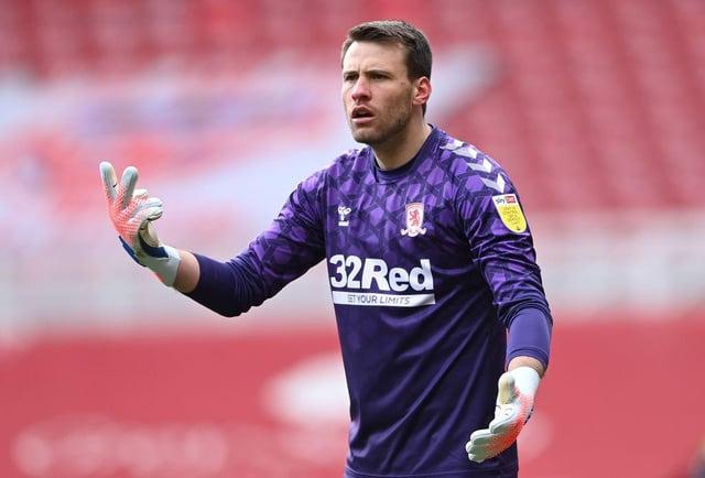 Middlesbrough goalkeeper Marcus Bettinelli.