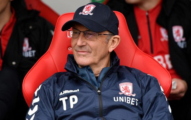 Former Middlesbrough boss Tony Pulis.