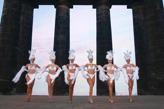 Luxe Events Productions was launched with a photo shoot at Penshaw Monument. Photos by Lauren Sadie Marsden.