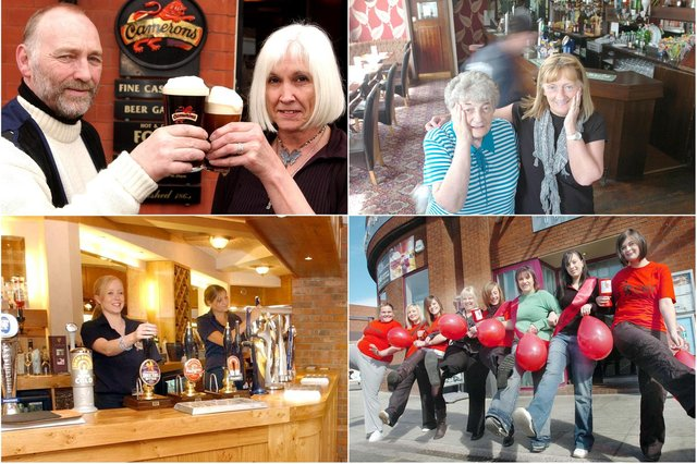 How many people do you recognise in these Hartlepool pub scenes?