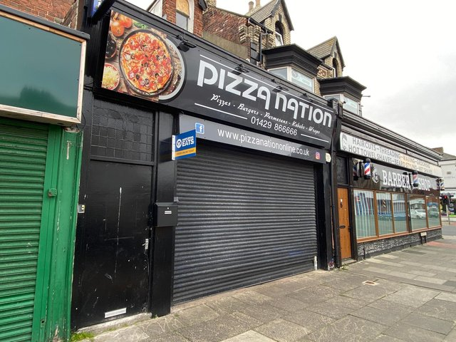 Pizza Nation, in York Road, Hartlepool.