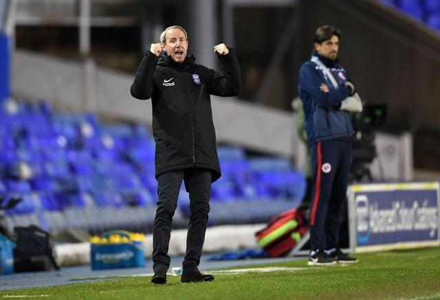 New Birmingham boss Lee Bowyer.