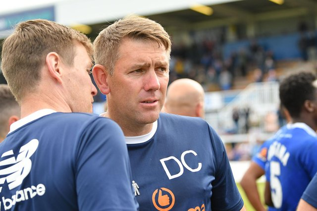 Dave Challinor following Hartlepool United's 3-2 win over Bromley at Victoria Park. Picture by FRANK REID
