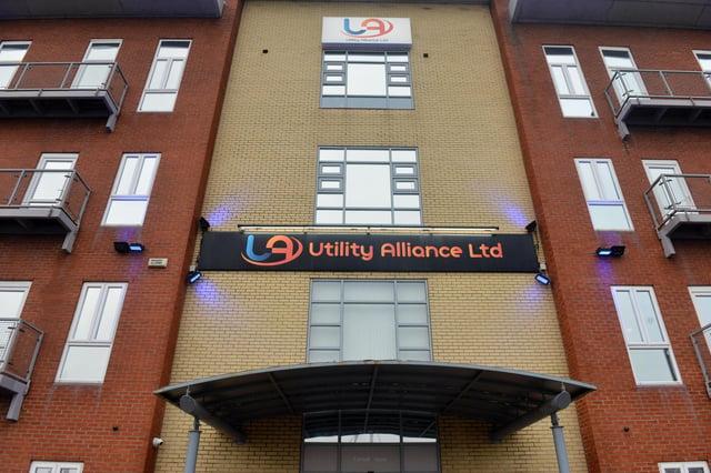 Utility Alliance Ltd's head office at Hartlepool marina.