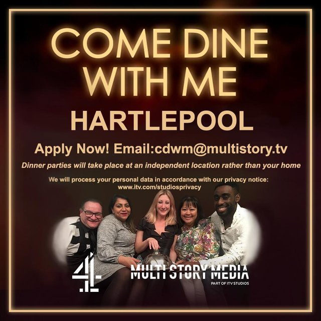 Come Dine With Me is back./Photo: Channel 4