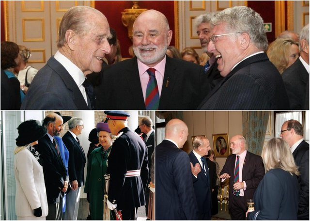 Alan Wright's memories of meeting Prince Philip.