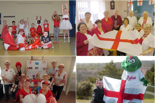 How many of these St George's Day scenes do you remember?