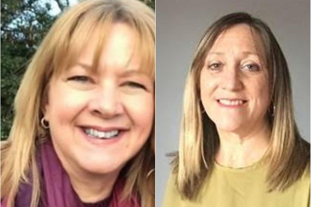 Mary Blakey (left) and Helen Jane (right) are helping people drop a dress size in just four weeks.