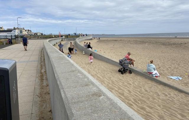 Seaton Carew beach has earned a Keep Britain Tidy award.