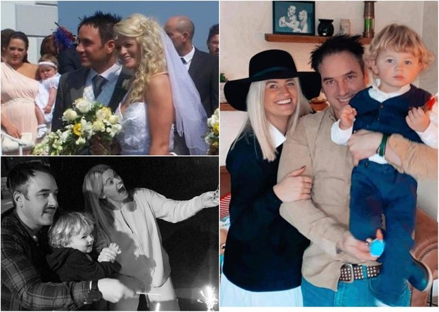 Hollie Sorelle McCully who was married to husband Paul on the same day as Prince William and Kate Middleton had their wedding.