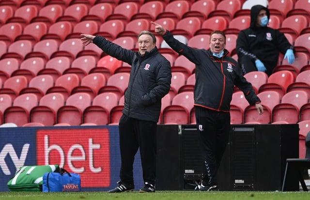 Neil Warnock, manager of Middlesborough.