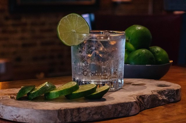 Make sure you mix your gin with a low-calorie tonic.