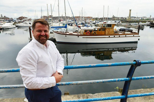 Simon Corbett, CEO of Orange Box, has shared some new opportunities coming to Tranquility House on the Marina.