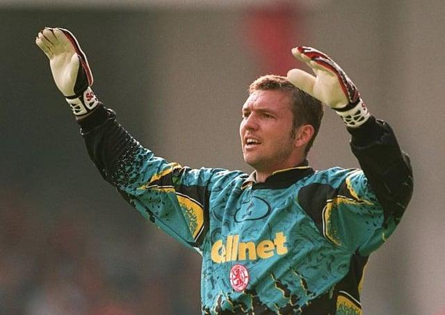 Former Middlesbrough goalkeeper Alan Miller.