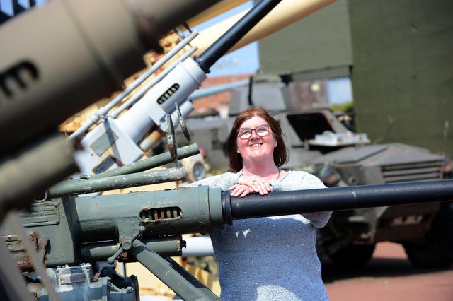 Heugh Battery Museum manager Diane Stephens.