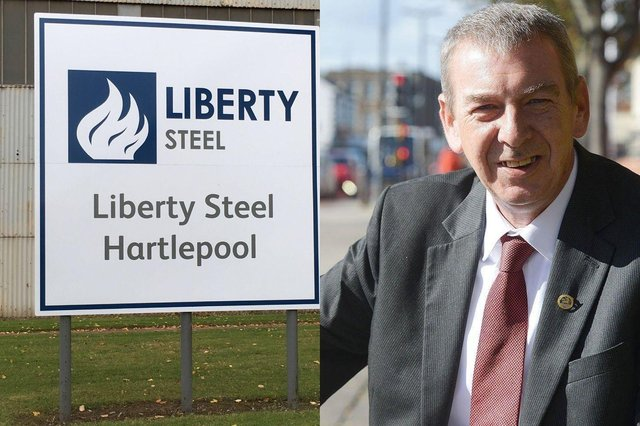 Hartlepool MP Mike Hill is urging the Government to step in to protect Liberty Steel jobs including 250 in Hartlepool.