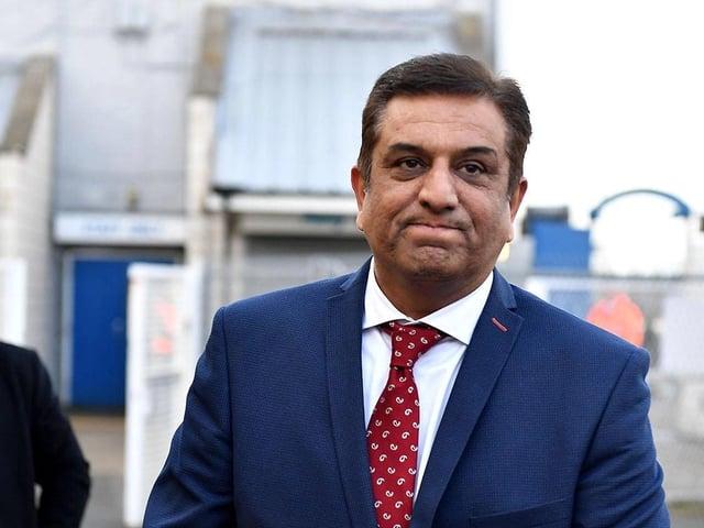 Hartlepool United owner Raj Singh.