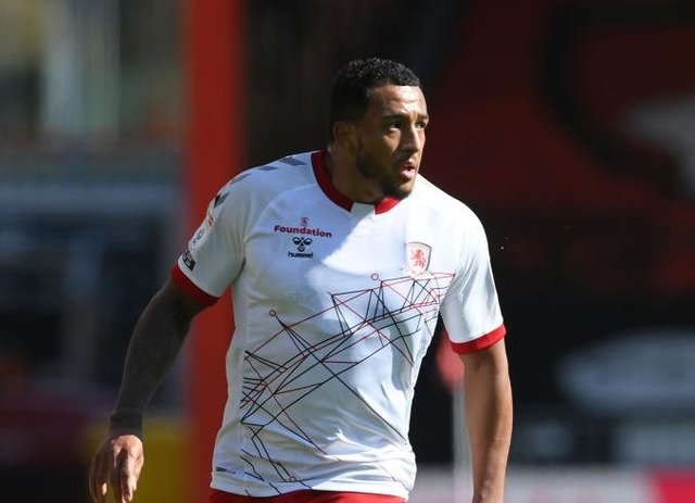 Middlesbrough winger Nathaniel Mendez-Laing.
