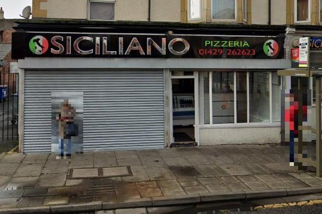 Police said the incident happened near a Siciliano's pizza shop.