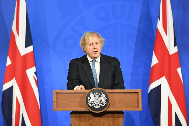 Prime Minister Boris Johnson has addressed some of the issues surrounding foreign travel and vaccine passports. Photo: PA.