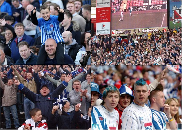 Fingers crossed Hartlepool United fans can return to the terraces to watch the team soon.