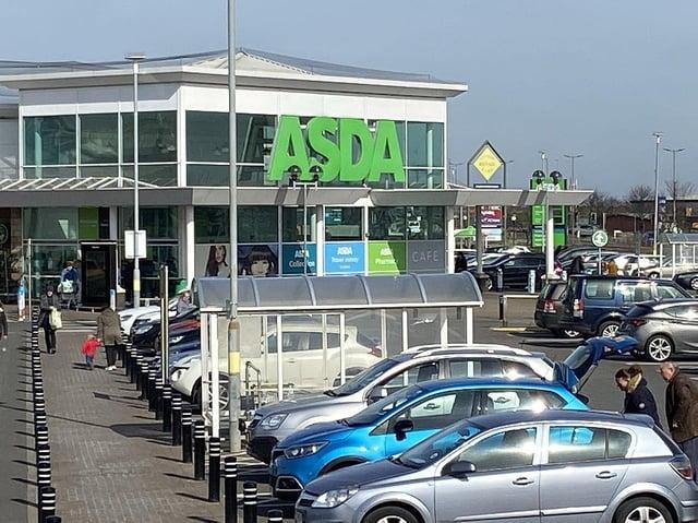 Hartlepool's Asda branch.