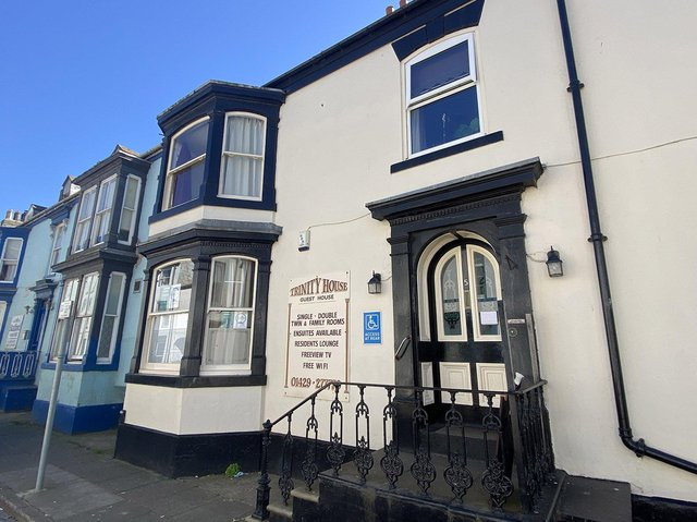 Trinity Guest House, in Hartlepool, has applied to extend the hours it currently sells alcohol as part of meals. Picture by FRANK REID