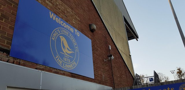 King's Lynn Town v Hartlepool United.
