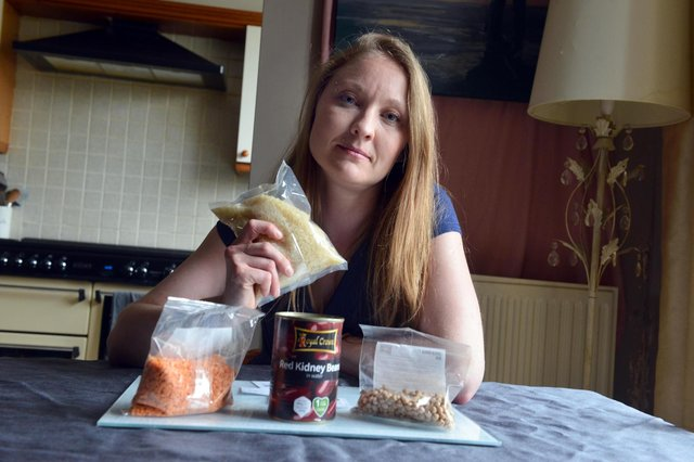Amy Asprey will be eating the same food rations as a Syrian refugee for a week.