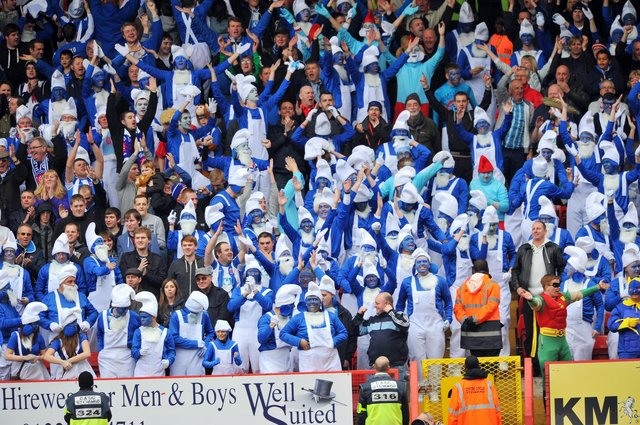 Who could forget when Hartlepool United and their travelling smurfs took the internet by storm back in 2012.