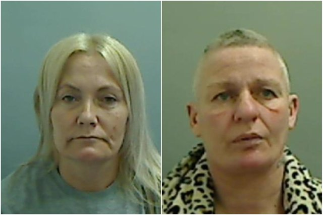 Amanda Donoghue (left) and Christina Youll admitted affray and unlawful wounding.