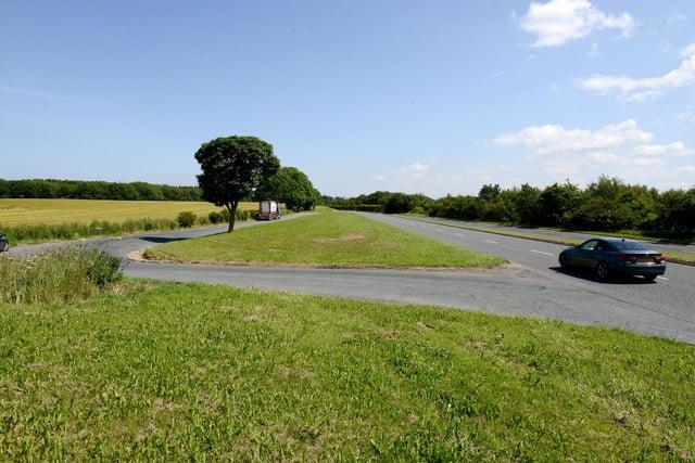 The A689 near Wynyard.