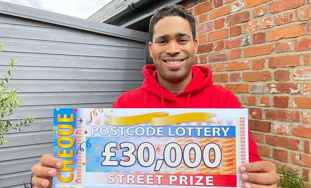 People's Postcode Lottery ambassador Danyl Johnson.